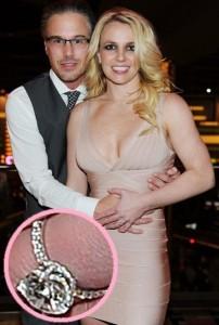 bague de fiançailles de Britney Spears