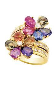 Choisir sa bague de mariage avec des diamants en couleur