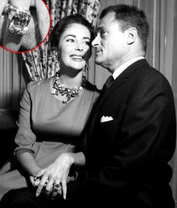 La bague de fiançailles d'Elizabeth Taylor