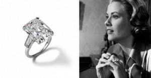 La bague de fiançailles de Grace Kelly