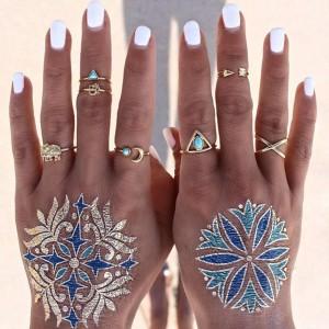 Lorsque les doigts représentent des dieux grecques
